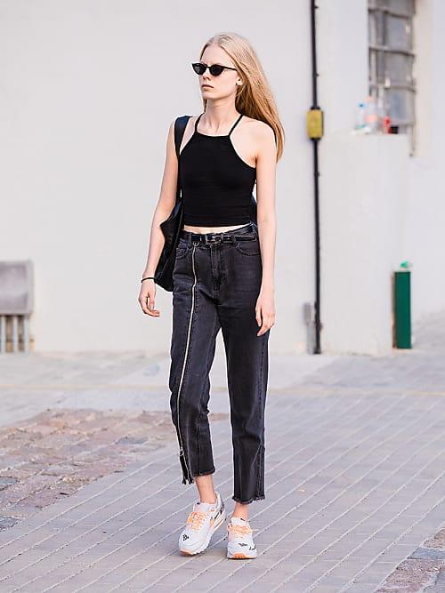 5 modi nuovi per indossare i jeans cropped nel 2019 | Stylight