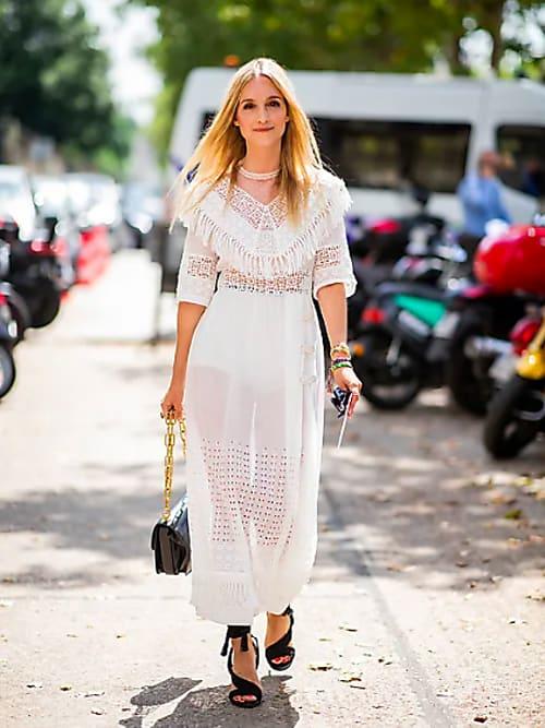 El vestido transparente y cómo combinarlo   Stylight