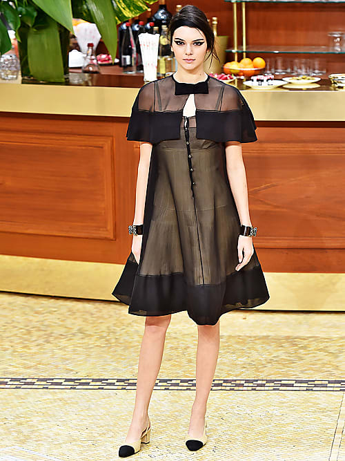 Chanel rotes kleid