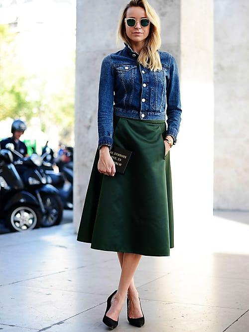 separation shoes b0df4 46327 Jeansjacke kombinieren: 7 besondere Outfits mit Jeansjacke ...