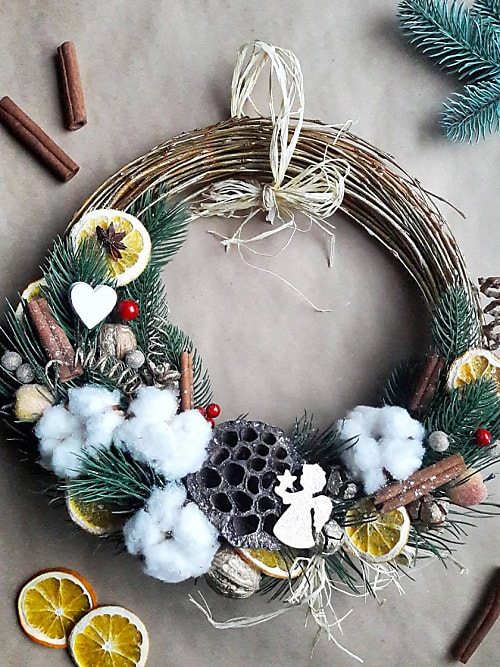how to make your own christmas wreath stylight