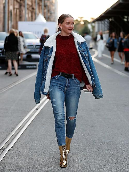 abbinare maglione e jeans