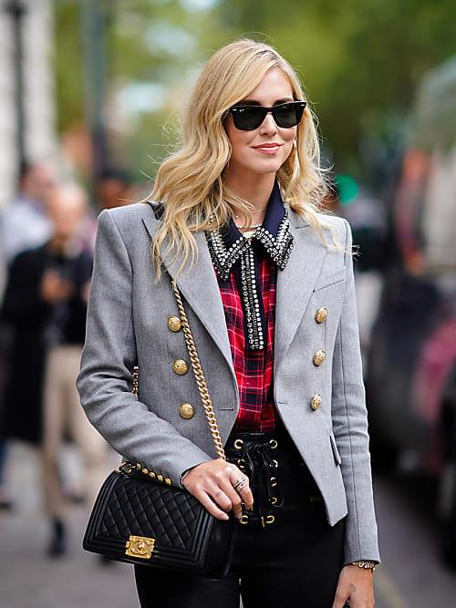 a basso prezzo 4cc20 12a99 Pantaloni in vinile: i preferiti di Chiara Ferragni | Stylight