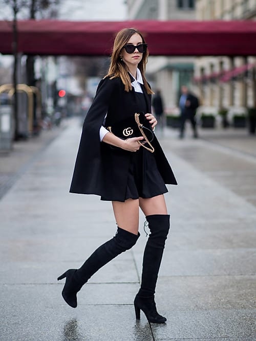 b978f025173c09 I cuissardes sono le scarpe ideali da indossare con un paio di pantaloncini  in inverno.