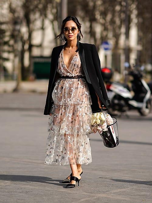 548a83ebff1a Vestito trasparente  come indossarlo senza essere volgari