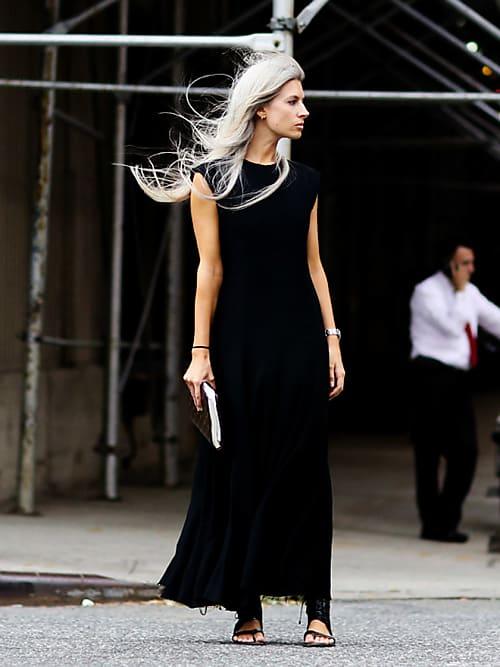 1 Vestido 10 Looks Cómo Combinar Un Vestido Negro Este