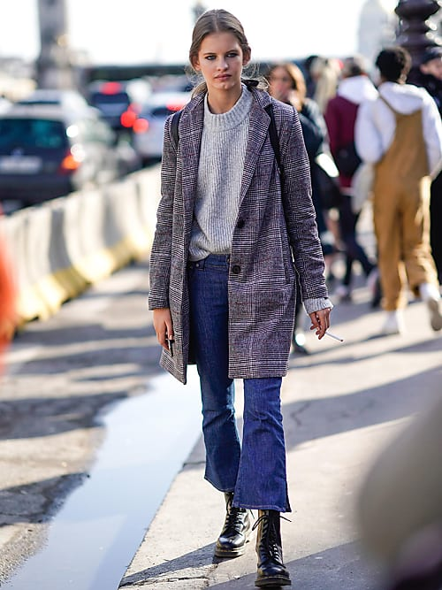 Come abbinare i jeans cropped flare: 5 idee per l'inverno
