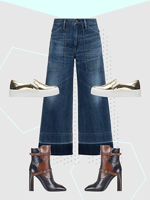 dream team diese schuhe passen perfekt zu den neuen trend jeans stylight. Black Bedroom Furniture Sets. Home Design Ideas