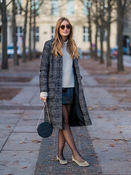 5 façons de porter la ballerine cet hiver | Stylight