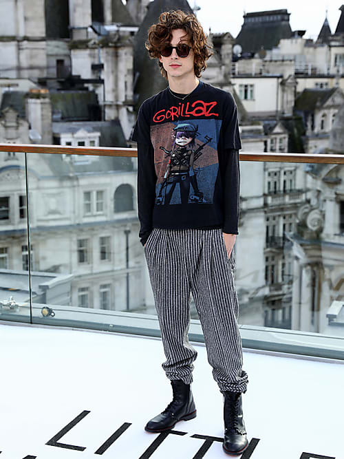 Timothee Chalamet S Best Red Carpet Moments Stylight
