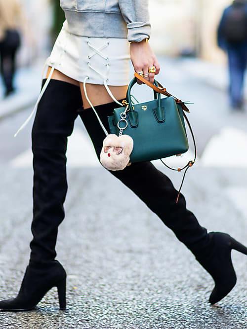 più alla moda nuovo stile di vita negozio ufficiale Over-the-knee: come abbinare gli stivali alti - Stylight ...