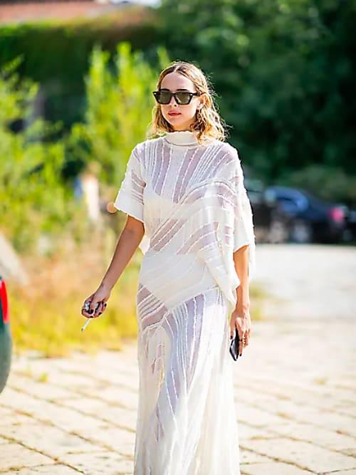 El Vestido Transparente Y Como Combinarlo Stylight