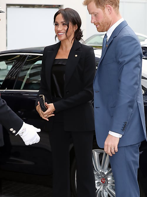 70602a4f8c7bc 5 Style Tips Used By Meghan Markle To Hide Her Pregnancy | Stylight