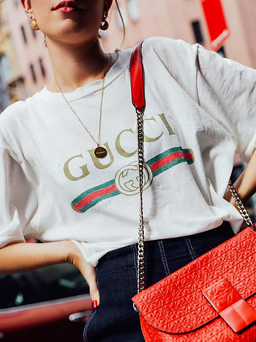 4a0a4f9b75ad4 Most Expensive T-Shirts Feat. Gucci Logo Tee
