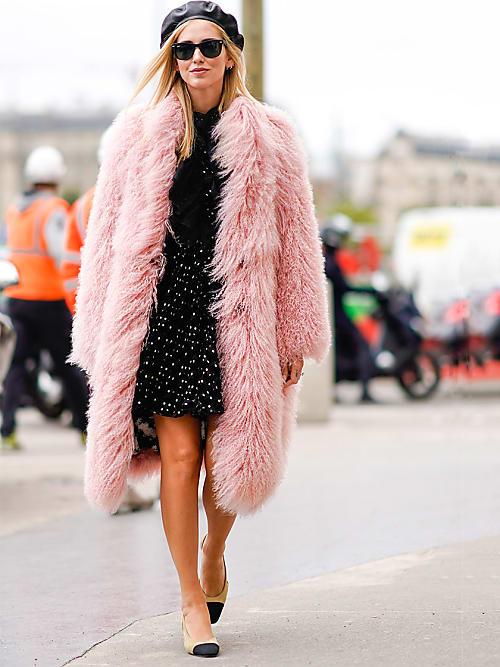 pretty nice 1e22e 690e7 La pelliccia di Chiara Ferragni: il must-have per l'inverno ...