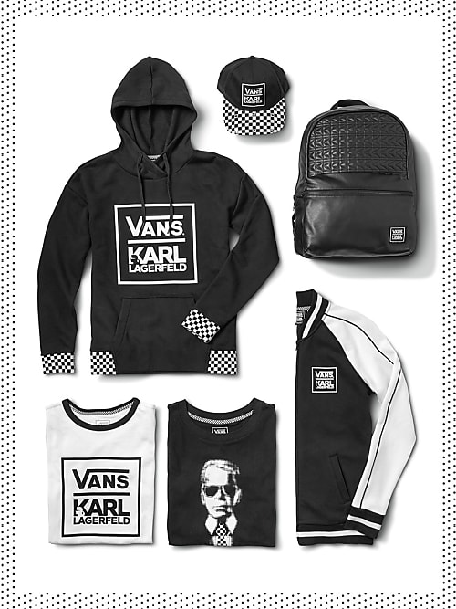 So genial sehen die neuen Vans von Karl Lagerfeld aus   Stylight