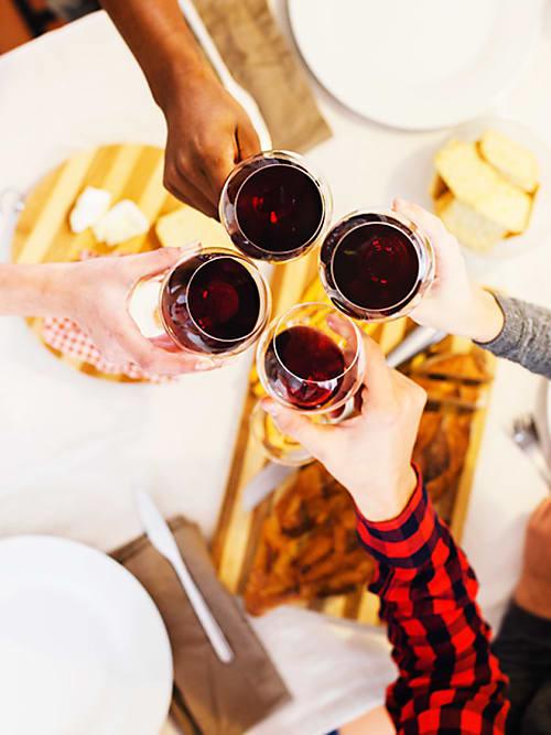 rotwein abnehmen gesund
