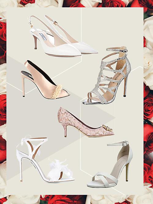 b5cb1c81ec Queste sono le scarpe da sposa più trendy per il 2018