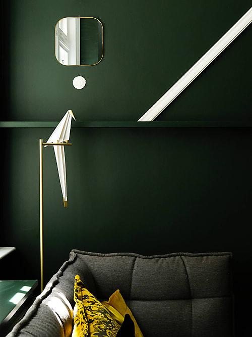 d co la couleur la plus tendance de 2019 est le vert de ch stylight. Black Bedroom Furniture Sets. Home Design Ideas