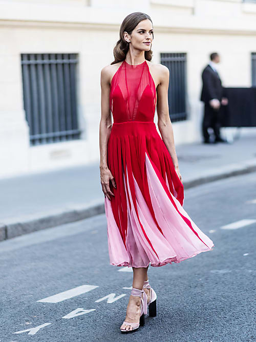 Instead Of The Little Black Dress, Consider The Little Red Dress | Stylight