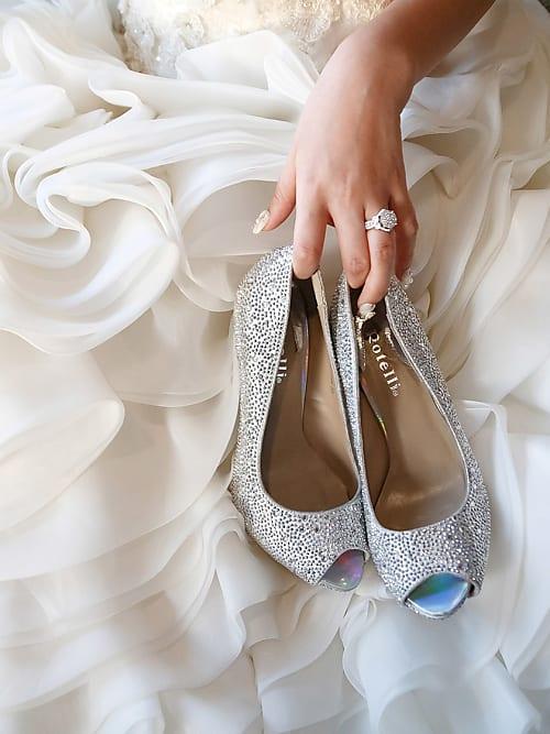 official photos 47a96 35c32 Für diese Brautschuhe brauchst du kein großes Budget | Stylight