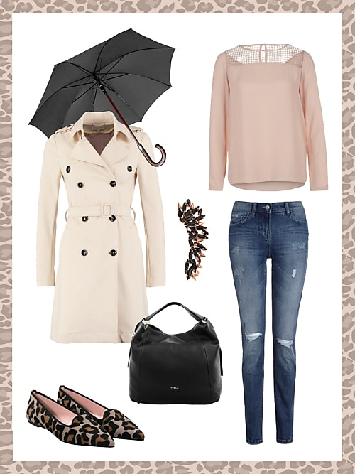Business Look Mit Trenchcoat Dein Buro Outfit Fur Morgen Stylight