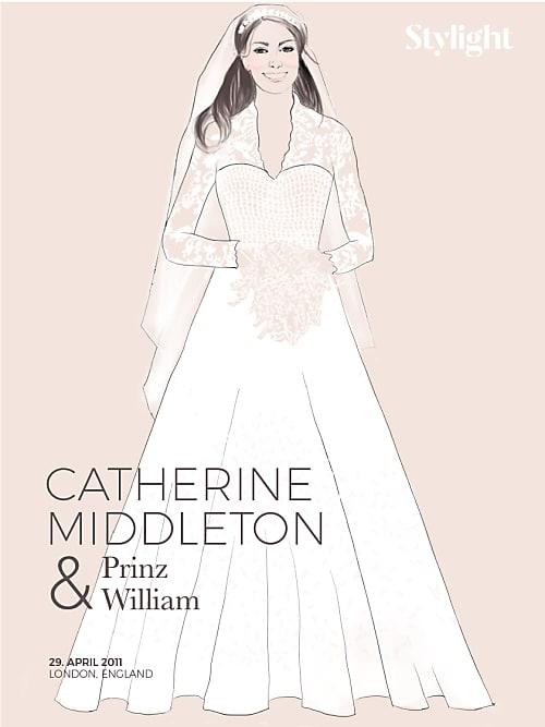 Hochzeitskleider Stars » Die Hochzeitskleider der Stil-Ikonen   Stylight
