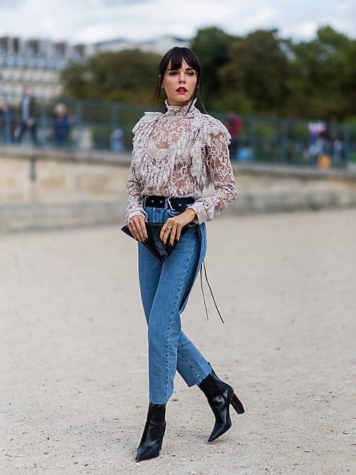 Vestiti Eleganti Con Jeans.Come Rendere I Jeans Eleganti 5 Trucchi Fashion Stylight