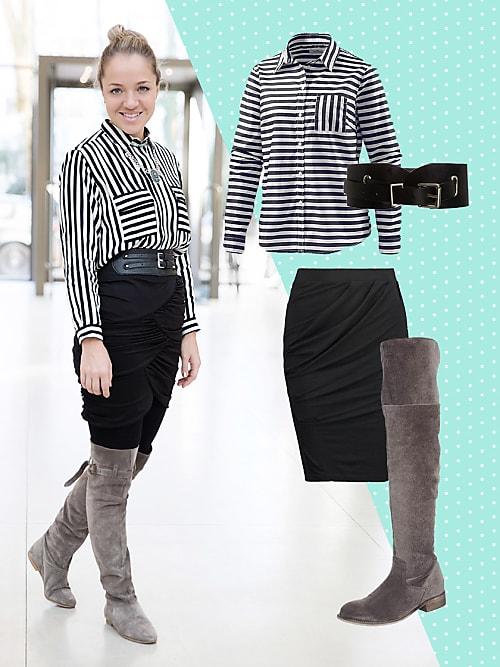 #OOTD aus dem Stylight-Office: Heute mit Overknee Stiefeln