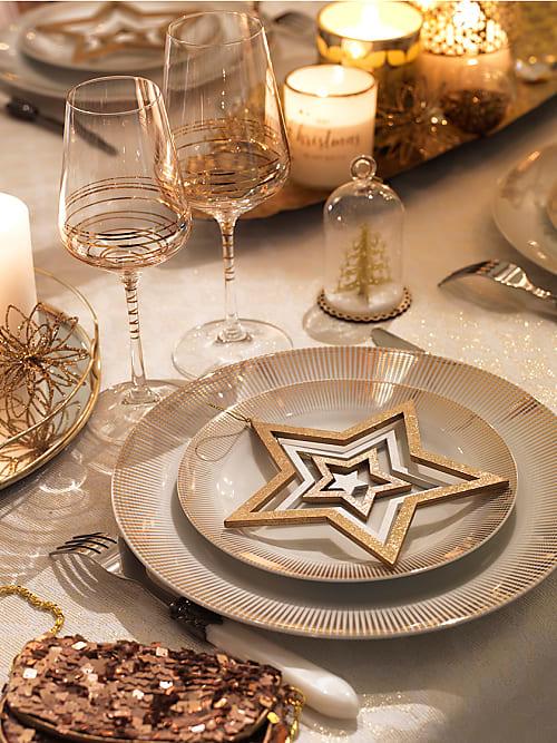 Noel 3 Tables De Fete Par Maison De Monde Stylight