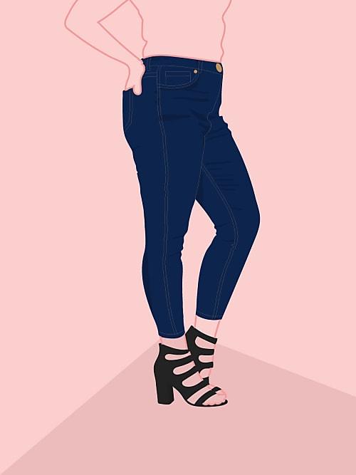 Jeans für mollige tipps