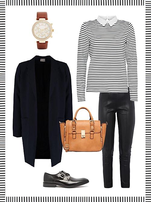 Business Look mit Lederhose – dein Büro Outfit für morgen