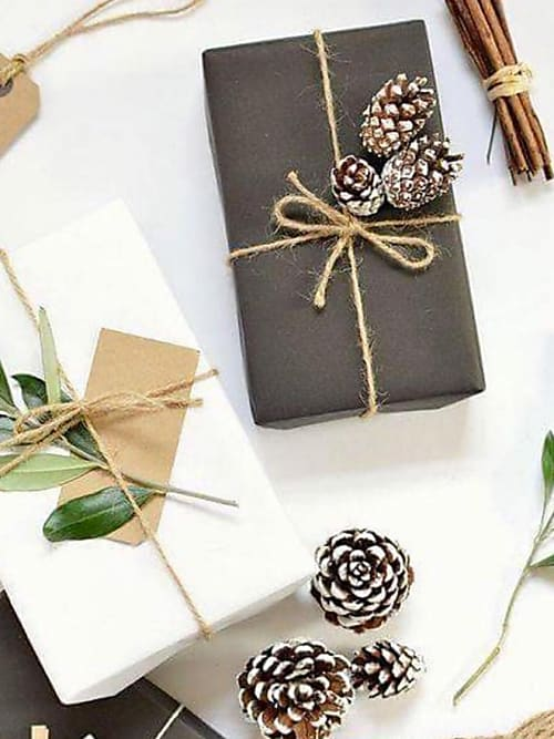 Cool Christmas.Cool Christmas Wrapping Ideas Courtesy Of Instagram Stylight