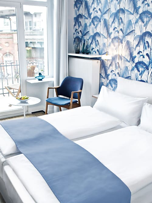fritz im pyjama so cool ist das hamburger hotel eingerichtet stylight. Black Bedroom Furniture Sets. Home Design Ideas