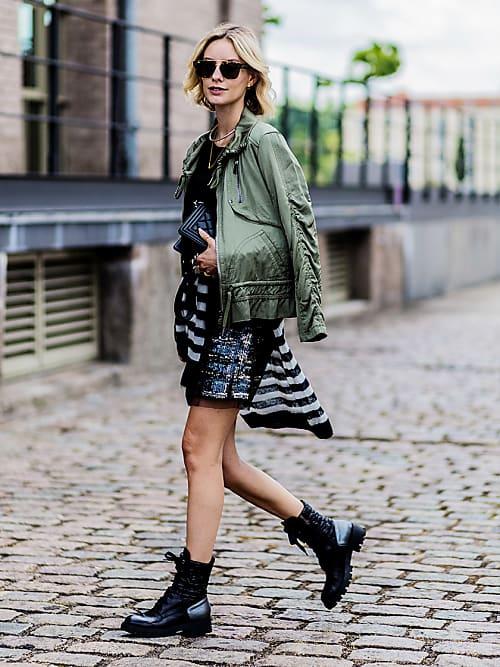 So stylt ihr jetzt Biker Boots zum Sommerkleid | Stylight