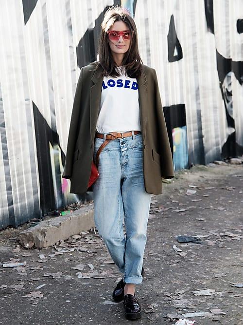 High Waist Jeans Kombinieren Styling Tipps Coole Looks