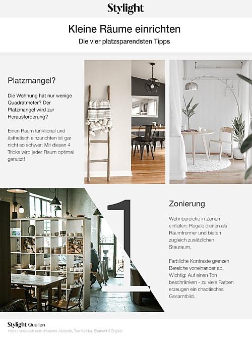 so kannst du laut experte am besten kleine r ume einrichten stylight. Black Bedroom Furniture Sets. Home Design Ideas