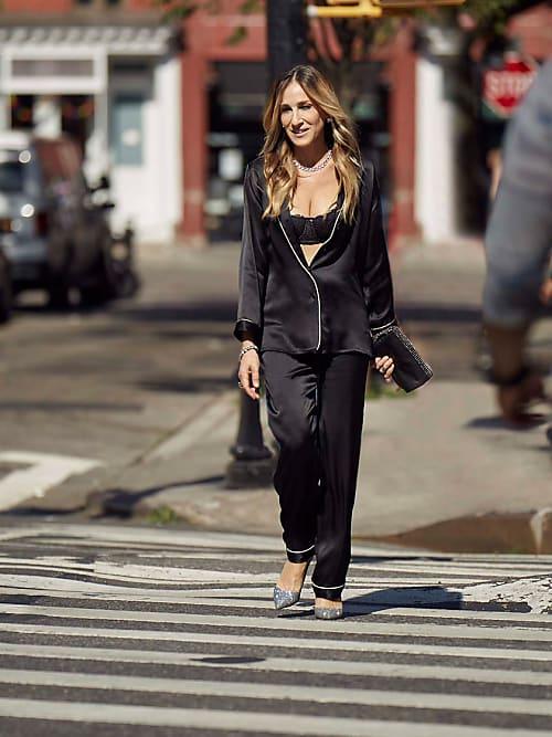 nuovo stile 84cf9 6d1e2 Sarah Jessica Parker x Intimissimi è Carrie in pigiama hot ...