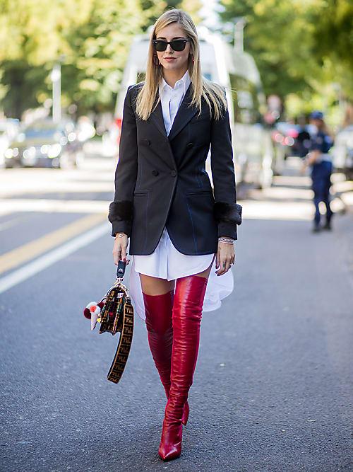 Wie kombiniert man Stiefel zu Kleidern   Stylight 3855daf221