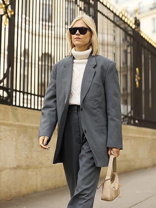12 outfit maglione collo alto donna che amerai | Stylight