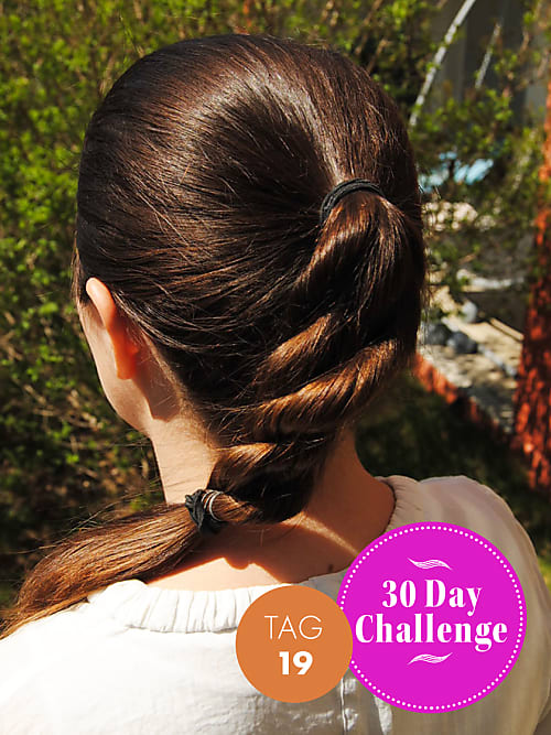 30 Day Challenge Neuer Tag Neue Frisur Tag 19 Stylight