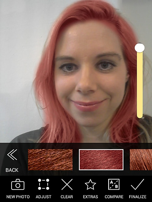 Haarfärbe App Modiface Hair Color Im Test Stylight