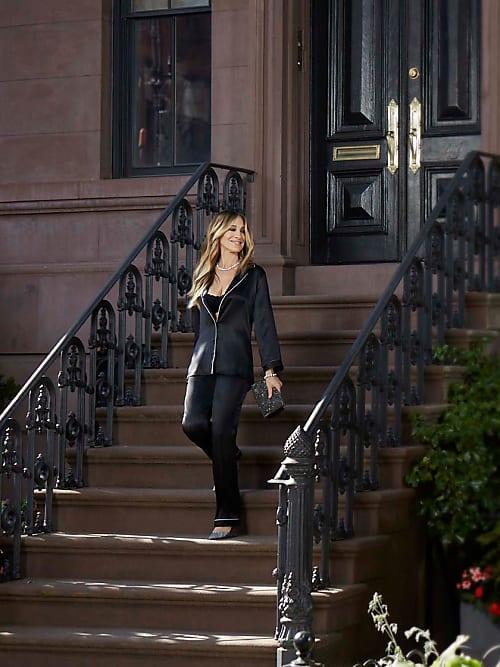 fddc8292f5 Sarah Jessica Parker x Intimissimi è Carrie in pigiama hot | Stylight