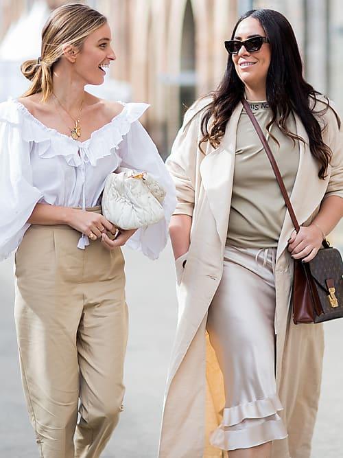 new authentic most popular discount Beige e bianco: l'abbinamento di colori estivo più chic ora ...