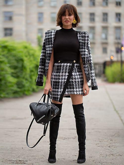 look cuissarde jupe