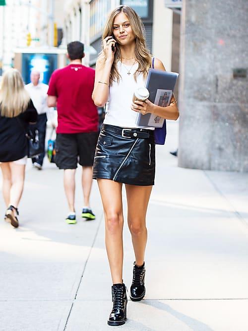 preordinare andare online assolutamente alla moda I best look delle modelle per i casting di Victoria's Secret ...