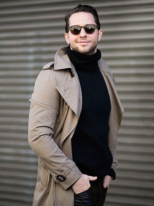 Warum so wenig Männer Rollkragenpullover tragen (obwohl