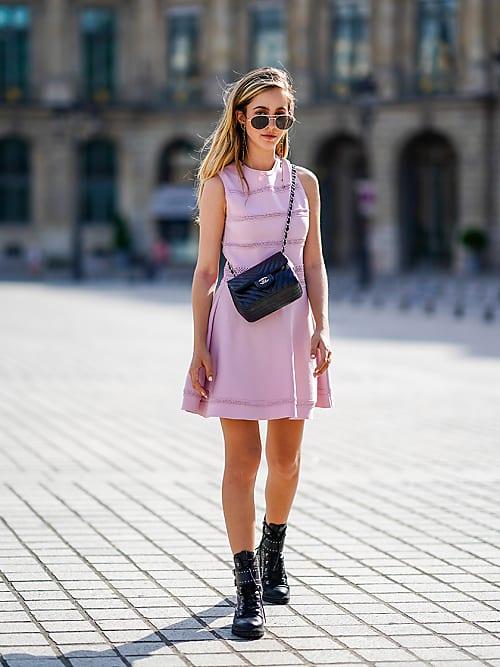 Wie kombiniert man Stiefel zu Kleidern   Stylight