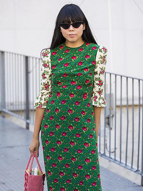 quality design 77298 05565 Abito a fiori patchwork: la nuova ossessione delle It Girl ...