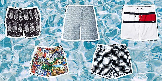menswear, men's swimsuits, men's swimwear, best swim trunks for men